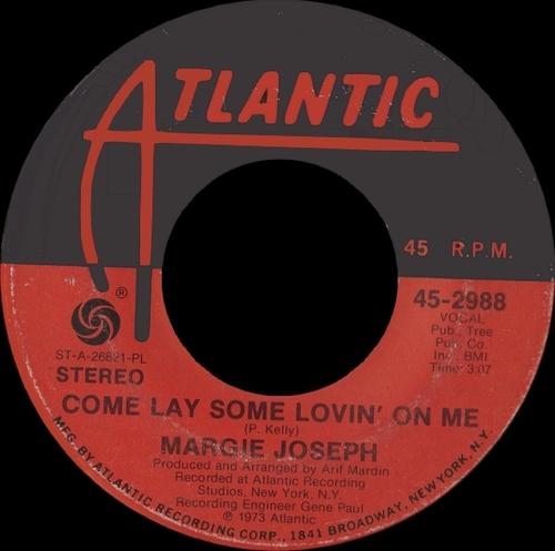 """Margie Joseph : Album """" Sweet Surrender """" Atlantic Records SD 7277 [ US ]"""