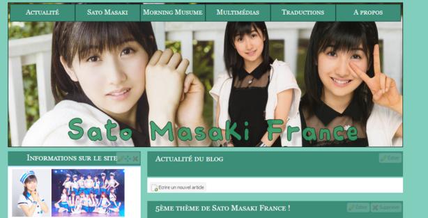5ème thème de Sato Masaki France -New Version- !