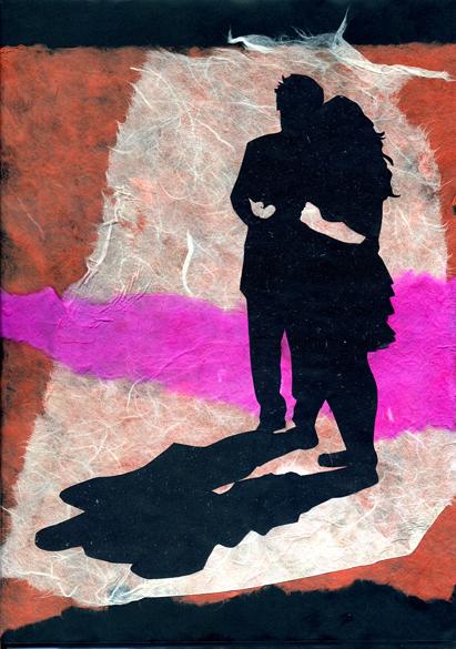 Collage - noch mehr Malen mit Papier