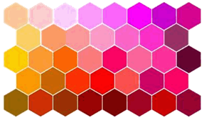 L'agencement des couleurs