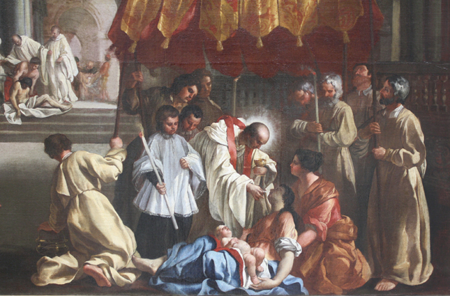 Saint Bernard Tolomei († 1348)