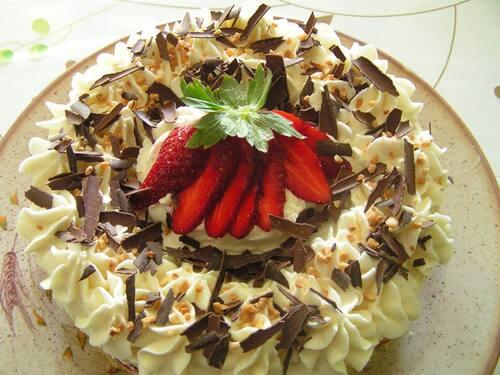 Gâteau fraizi paradize