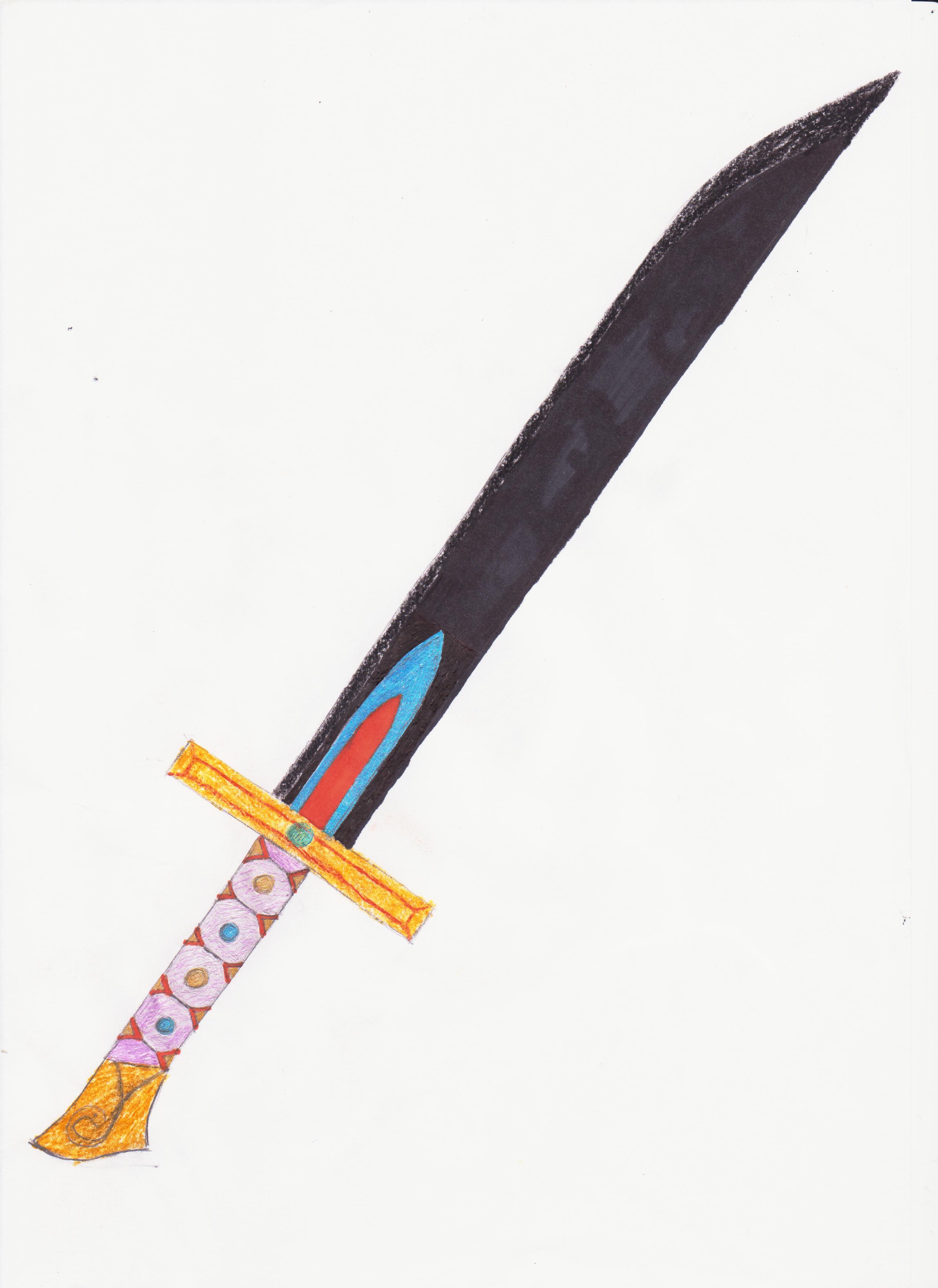Armes blanches dessins - Dessin de sabre ...