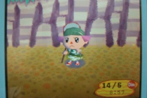 Moi en tenue de chasse