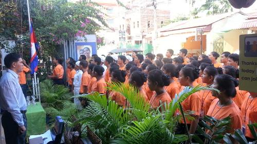 Une école hôtelière : Sala Baï