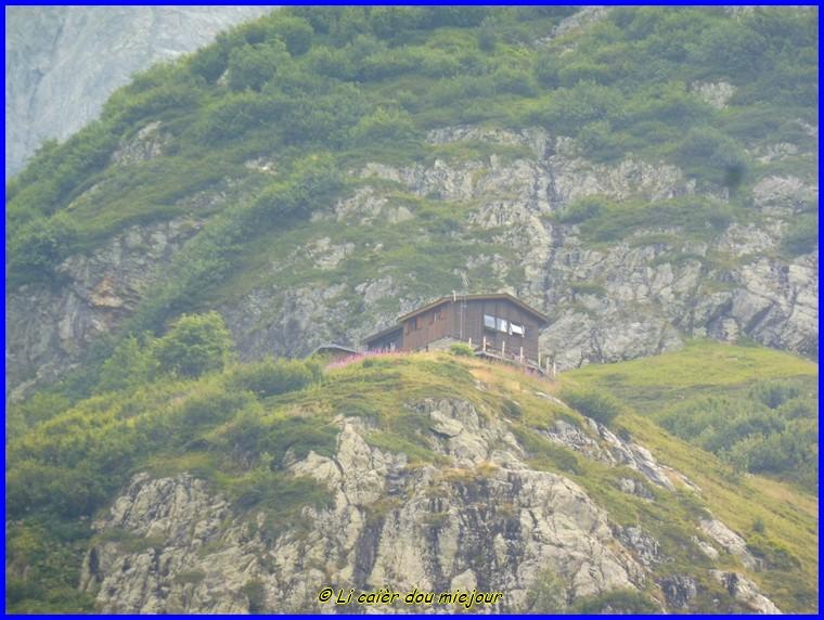 Valgaudemard, le refuge de Chabournéou