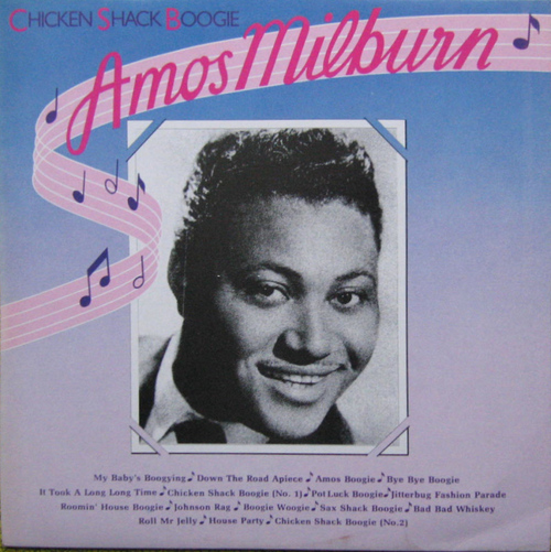 "Amos Milburn : Album "" Chicken Shak Boogie "" United Artists Records UAS 30203 [ UK ]"