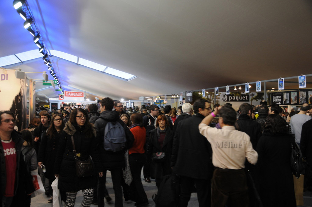 La BD d'Angoulême (fin) Ambiance et lauréats !