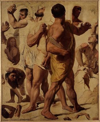 Le Martyre de Saint Symphorien, - Jean-Auguste-Dominique Ingres