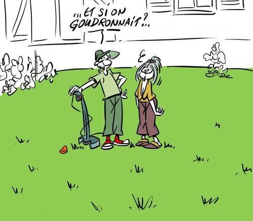 pelouse .....
