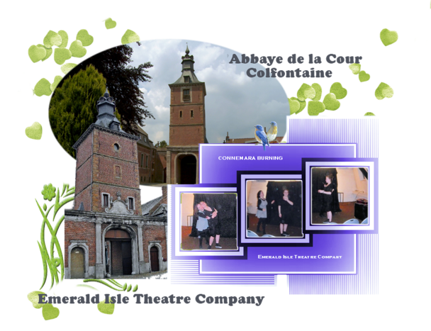 theatre anglais, tour belge, france, abbaye la tour, wasmes, colfontaine, piece pour étudiant en anglais,dublin,interactif,