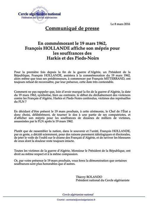 La Honte de François Hollande