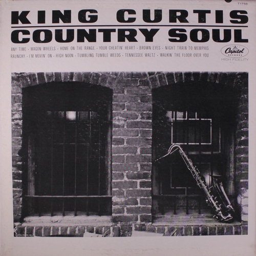 "King Curtis : Album "" Country Soul "" Capitol Records ST-1756 [ US ]"