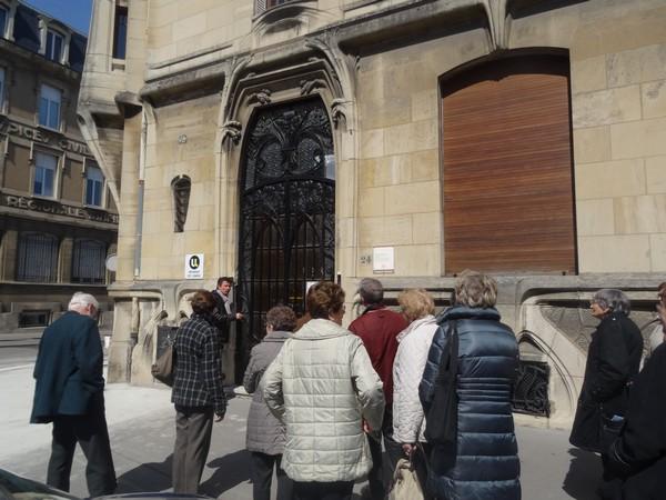 Un beau voyage à la découverte de l'Art Nouveau à Nancy, avec l'Association Culturelle Châtillonnaise