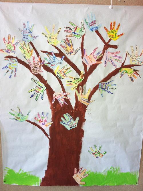 L'arbre à mains