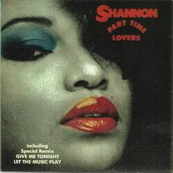 Shannon - Part Time Lovers - Complete CD
