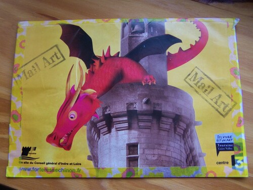 Des dragons au courrier