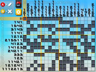 Palkia Pokémon Picross
