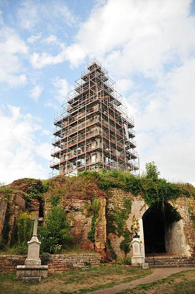 File:Vesoul, Restauration de la Chapelle Notre Dame de la Motte 07092013.jpg