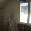 Pose ossature méttalique et placo sur pignon étage maison Mikit (4)