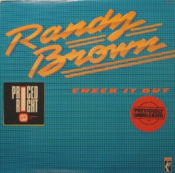 Randy Brown - Check It Out - Complete LP