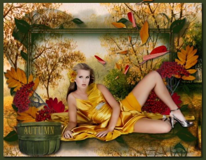 Mes créations automne