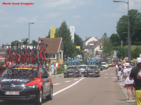 Quelques photos souvenirs du Tour de France par René Drappier