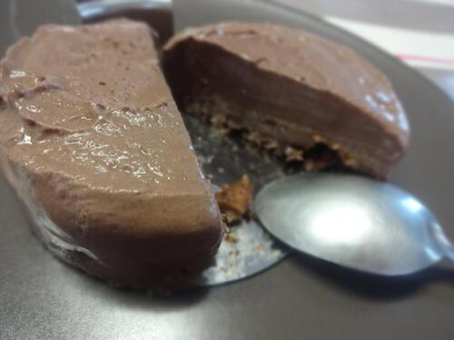 Tarte coco/chocolat façon cheesecake [Vegan]