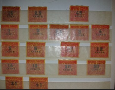 Indochine série complète taxe 1931 18 timbres neufs