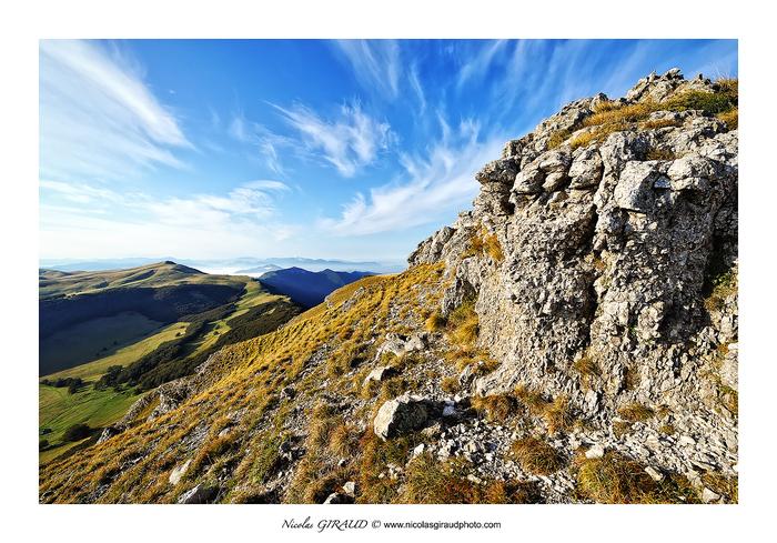 Roc de Toulau, belvédère du Vercors Drômois