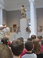 CPC-CPK : apprentis sculpteurs au Musée des Beaux-arts de Valenciennes