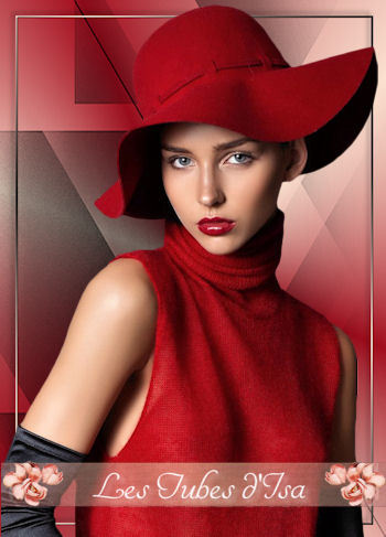 FAC0071 - Tube femme chapeau
