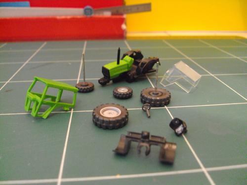 Tracteur Deutz Fahr 4.70 de Wiking