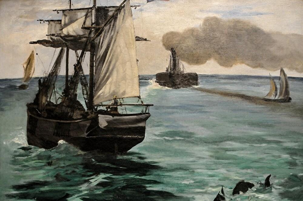 Manet 13 /  1869-l'enterrement