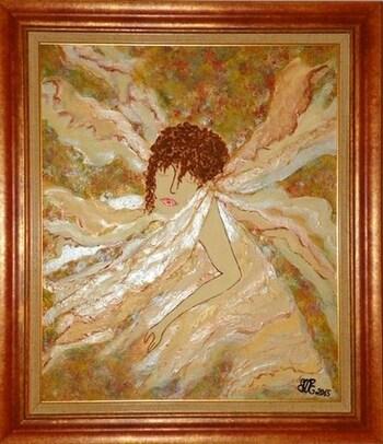 "Art Painting : ""SÉRÉNITÉ"" = ""SERENITY"""