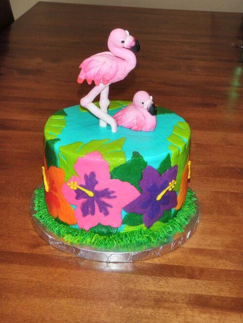 Flamingo Cake : 40 gâteaux d'anniversaire (20)
