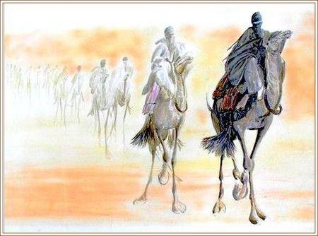 Kadafi roi des touareg et maître du Sahel africain!