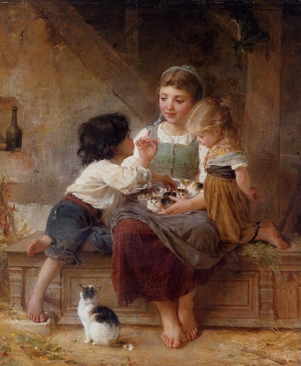 Peinture de : Emile Munier