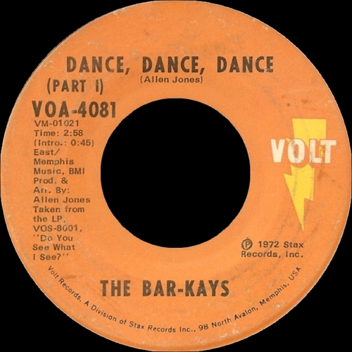 "The Bar-Kays : Album "" Do You See What I See "" Volt Records VOS-8001 S [ US ]"