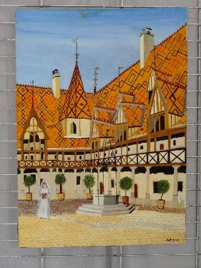 L'exposition 2012 des peintres de la MJC Lucie Aubrac de Châtillon sur Seine