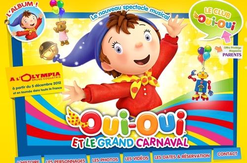 Oui-oui et le grand carnaval