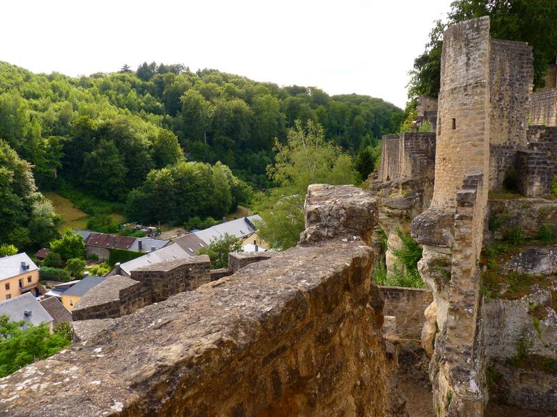Château fort de Larochette