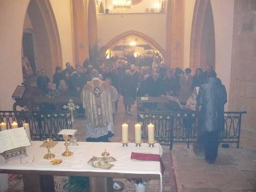 Messe de la nuit de Noël à Catus