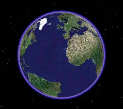 Planète Terre.