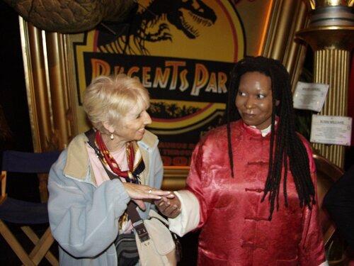 Jacqueline à Londres 2007