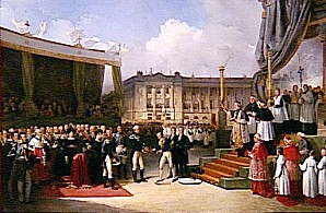 Beaume - Inauguration du monument a la memoire de Louis XVI