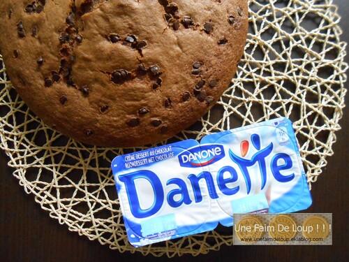 Gateau danette chocolat