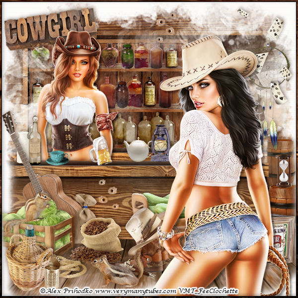 Cowgirls' saloon