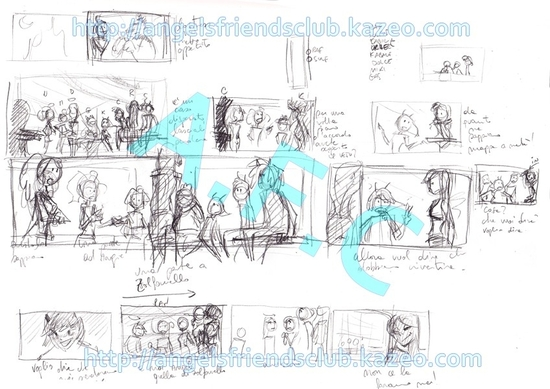 Angel's Friends Storyboard part.5