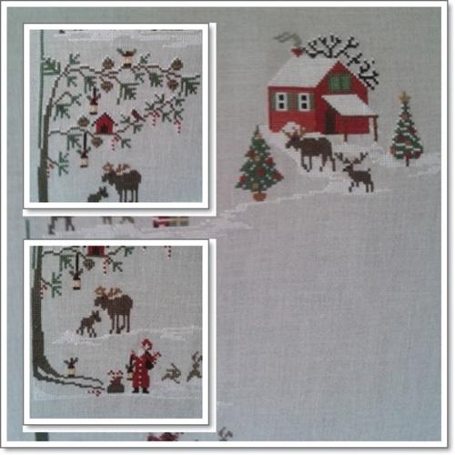 """Sal Sara Guermani """"Christmas village"""" et une jolie surprise"""